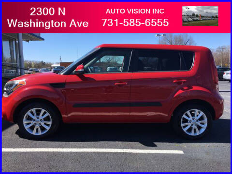 2012 Kia Soul for sale at Auto Vision Inc. in Brownsville TN