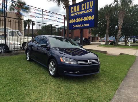 2014 Volkswagen Passat for sale at Car City Autoplex in Metairie LA