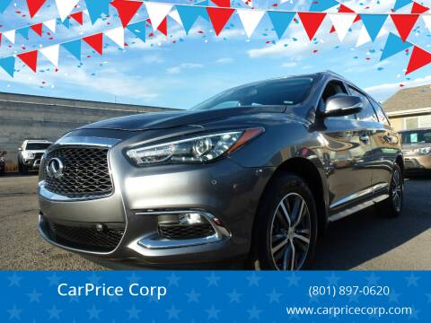2017 Infiniti QX60 for sale at CarPrice Corp in Murray UT