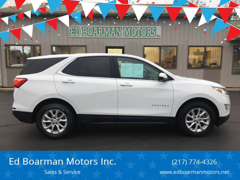 2019 Chevrolet Equinox for sale at Ed Boarman Motors Inc. in Shelbyville IL