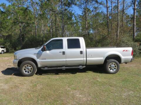 2005 Ford F-350 Super Duty for sale at Ward's Motorsports in Pensacola FL