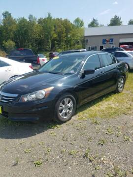 2012 Honda Accord for sale at Jeff's Sales & Service in Presque Isle ME
