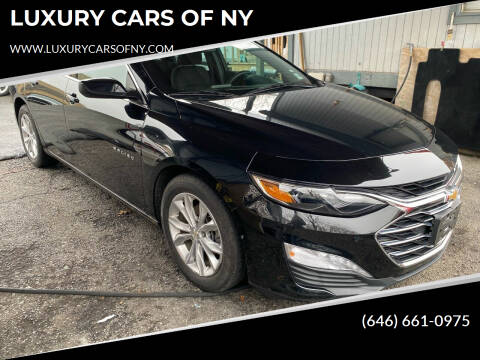 2019 Chevrolet Malibu for sale at LUXURY CARS OF NY in Queens NY