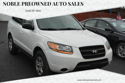 2009 Hyundai Santa Fe for sale at Noble PreOwned Auto Sales in Martinsburg WV