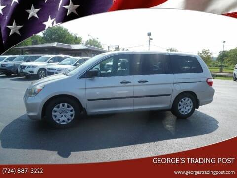 2007 Honda Odyssey for sale at GEORGE'S TRADING POST in Scottdale PA