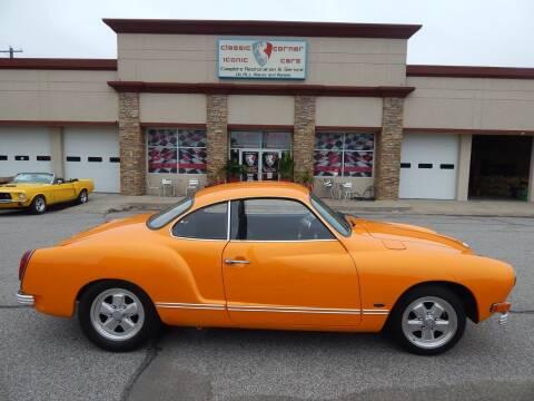 1974 Volkswagen Karmann Ghia for sale at Iconic Motors of Oklahoma City, LLC in Oklahoma City OK