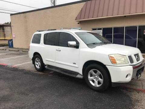 2006 Nissan Armada for sale at Reliable Auto Sales in Plano TX