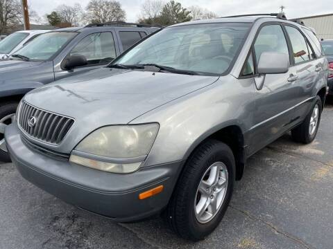 2000 Lexus RX 300 for sale at Modern Automotive in Boiling Springs SC