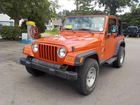 2005 Jeep Wrangler for sale at RTE 123 Village Auto Sales Inc. in Attleboro MA