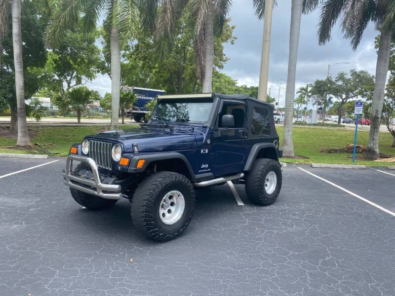 2006 Jeep Wrangler for sale at BIG BOY DIESELS in Fort Lauderdale FL
