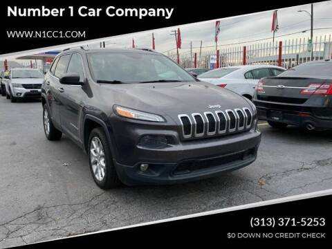 2014 Jeep Cherokee for sale at NUMBER 1 CAR COMPANY in Detroit MI