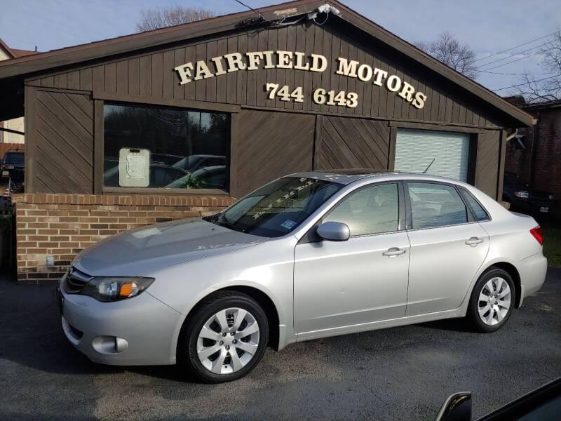 2010 Subaru Impreza for sale at Fairfield Motors in Fort Wayne IN
