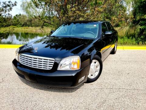 2001 Cadillac DeVille for sale at Excalibur Auto Sales in Palatine IL
