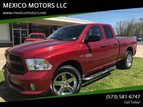 2014 RAM Ram Pickup 1500 for sale at MEXICO MOTORS LLC in Mexico MO
