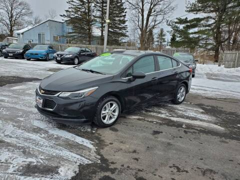 2016 Chevrolet Cruze for sale at Excellent Autos in Amsterdam NY