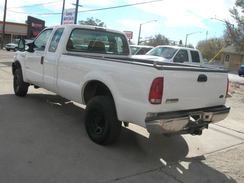 2007 Ford F-250 Super Duty XL 4dr SuperCab 4WD LB - Colorado Springs CO