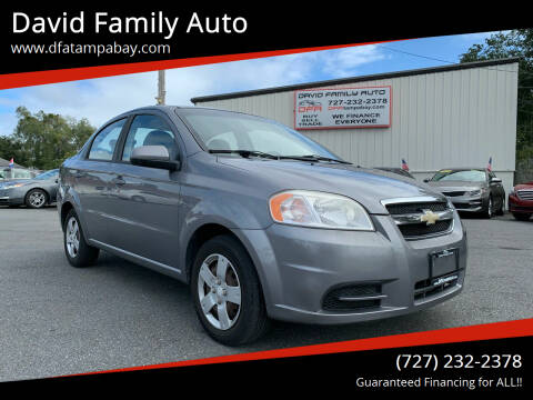 2011 Chevrolet Aveo for sale at David Family Auto in New Port Richey FL