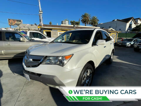 2008 Acura MDX for sale at Good Vibes Auto Sales in North Hollywood CA