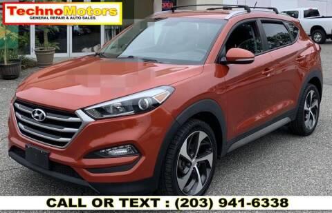 2017 Hyundai Tucson for sale at Techno Motors in Danbury CT