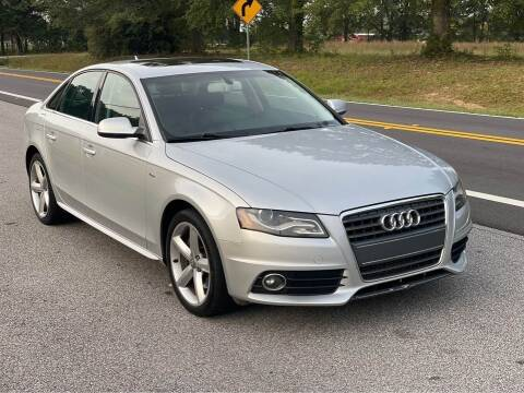 2012 Audi A4 for sale at Two Brothers Auto Sales in Loganville GA