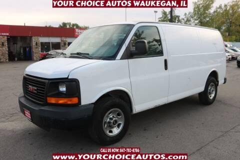 2009 GMC Savana Cargo for sale at Your Choice Autos - Waukegan in Waukegan IL