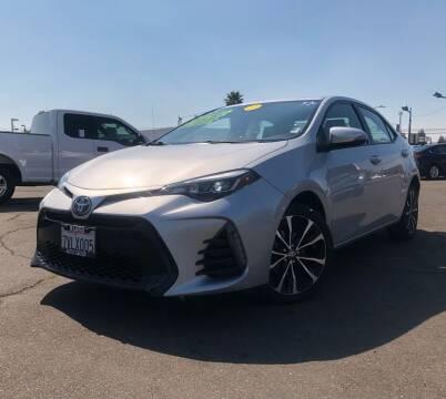 2017 Toyota Corolla for sale at LUGO AUTO GROUP in Sacramento CA