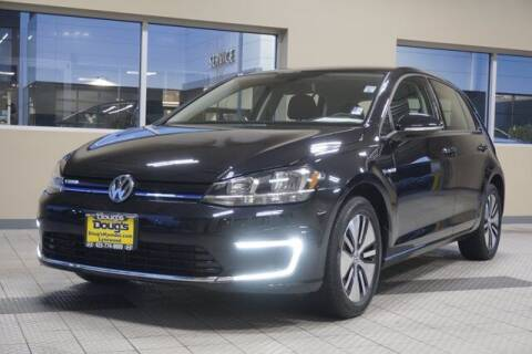 2017 Volkswagen e-Golf for sale at Jeremy Sells Hyundai in Edmunds WA