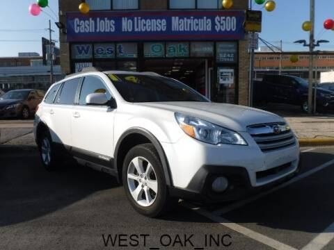 2014 Subaru Outback for sale at West Oak in Chicago IL