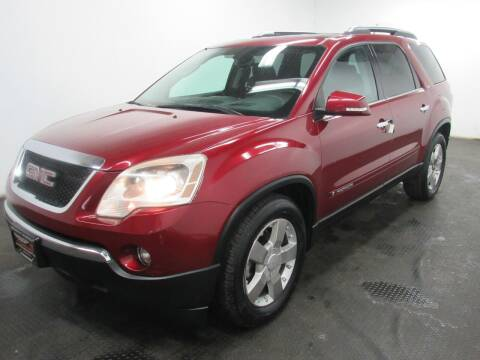 2008 GMC Acadia for sale at Automotive Connection in Fairfield OH