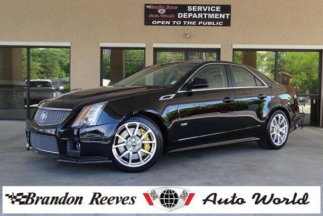 2014 Cadillac CTS-V for sale at Brandon Reeves Auto World in Monroe NC
