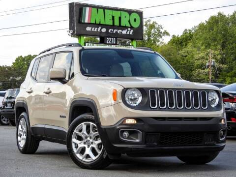 2015 Jeep Renegade for sale at Used Imports Auto - Metro Auto Credit in Smyrna GA