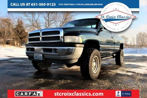 1995 Dodge Ram Pickup 2500 for sale at St. Croix Classics in Lakeland MN