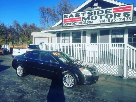 2007 Saturn Aura for sale at EASTSIDE MOTORS in Tulsa OK