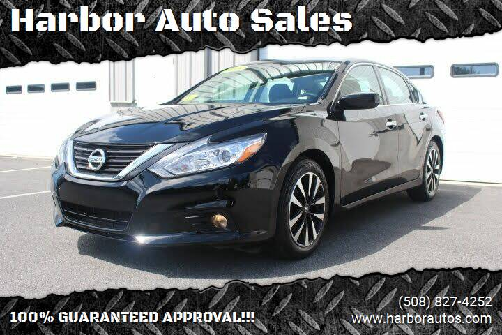 2018 Nissan Altima for sale at Harbor Auto Sales in Hyannis MA