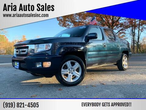 2009 Honda Ridgeline for sale at ARIA  AUTO  SALES in Raleigh NC