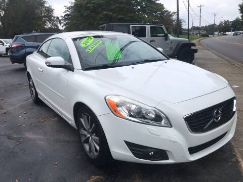 2012 Volvo C70 for sale at Scotty's Auto Sales, Inc. in Elkin NC