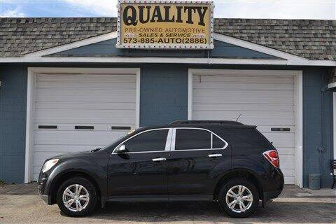 2013 Chevrolet Equinox for sale at Quality Pre-Owned Automotive in Cuba MO