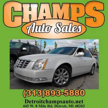 2008 Cadillac DTS for sale at Champs Auto Sales in Detroit MI