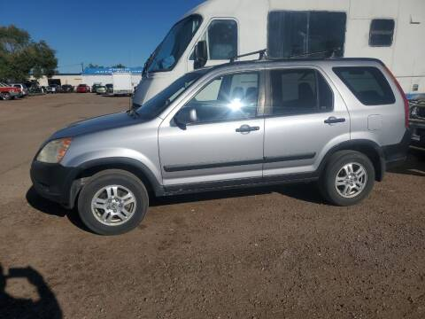 2004 Honda CR-V for sale at PYRAMID MOTORS - Fountain Lot in Fountain CO