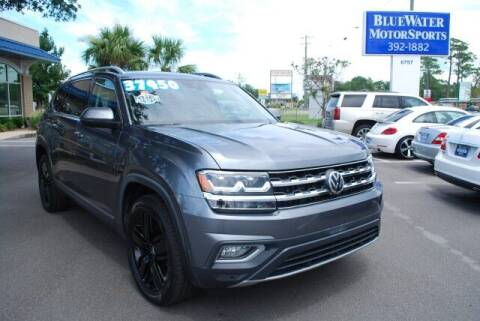 2018 Volkswagen Atlas for sale at BlueWater MotorSports in Wilmington NC