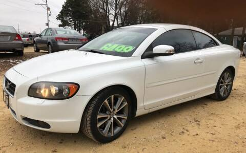 2010 Volvo C70 for sale at Northwoods Auto & Truck Sales in Machesney Park IL