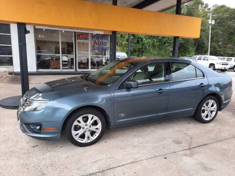 2012 Ford Fusion for sale at PIRATE AUTO SALES in Greenville NC