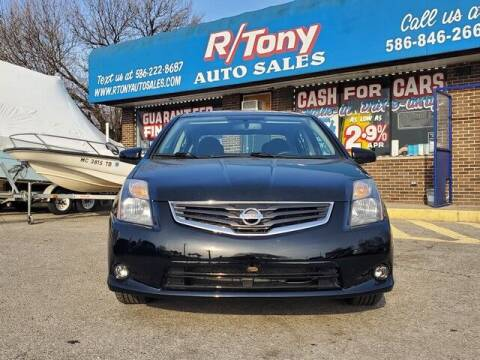 2012 Nissan Sentra for sale at R Tony Auto Sales in Clinton Township MI