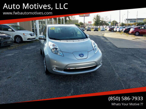 2015 Nissan LEAF for sale at Auto Motives, LLC in Fort Walton Beach FL