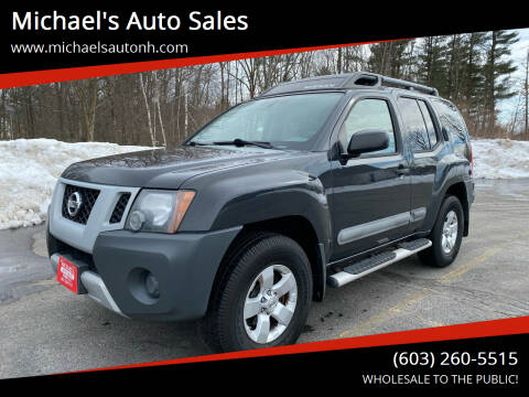 2012 Nissan Xterra for sale at Michael's Auto Sales in Derry NH