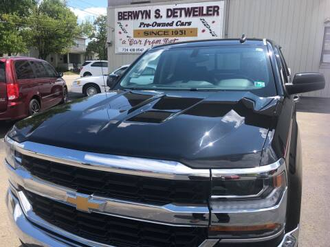 2018 Chevrolet Silverado 1500 for sale at Berwyn S Detweiler Sales & Service in Uniontown PA