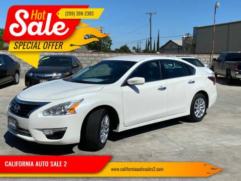 2015 Nissan Altima for sale at CALIFORNIA AUTO SALE 2 in Livingston CA