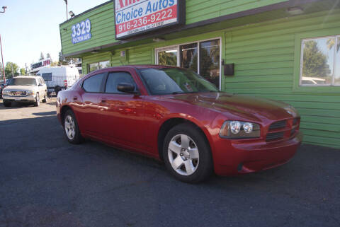 2008 Dodge Charger for sale at Amazing Choice Autos in Sacramento CA