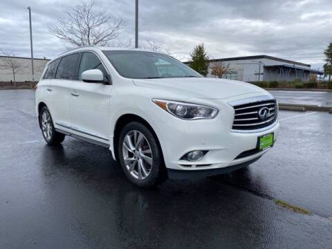 2013 Infiniti JX35 for sale at Sunset Auto Wholesale in Tacoma WA