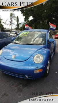 1999 Volkswagen New Beetle for sale at Cars Plus in Sarasota FL